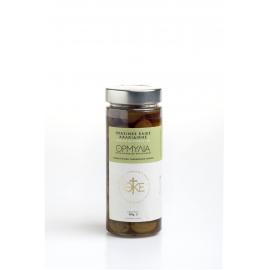 Πράσινες ελιές Χαλκιδικής με ρίγανη & ξύδι 360γρ.